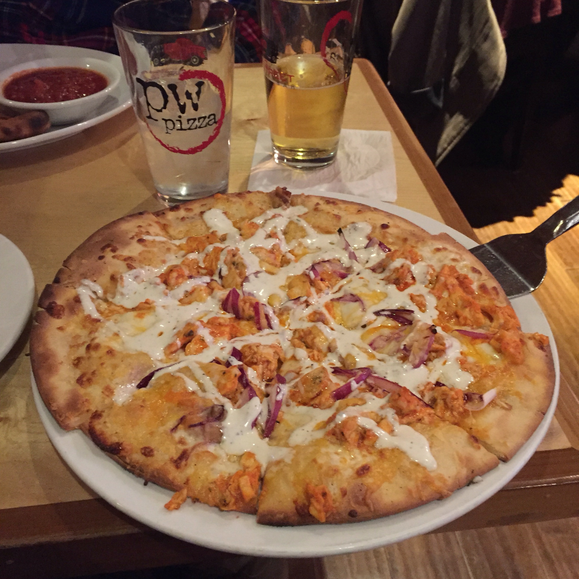 ... the quest to find the best gf pizza in the st louis area is pw pizza